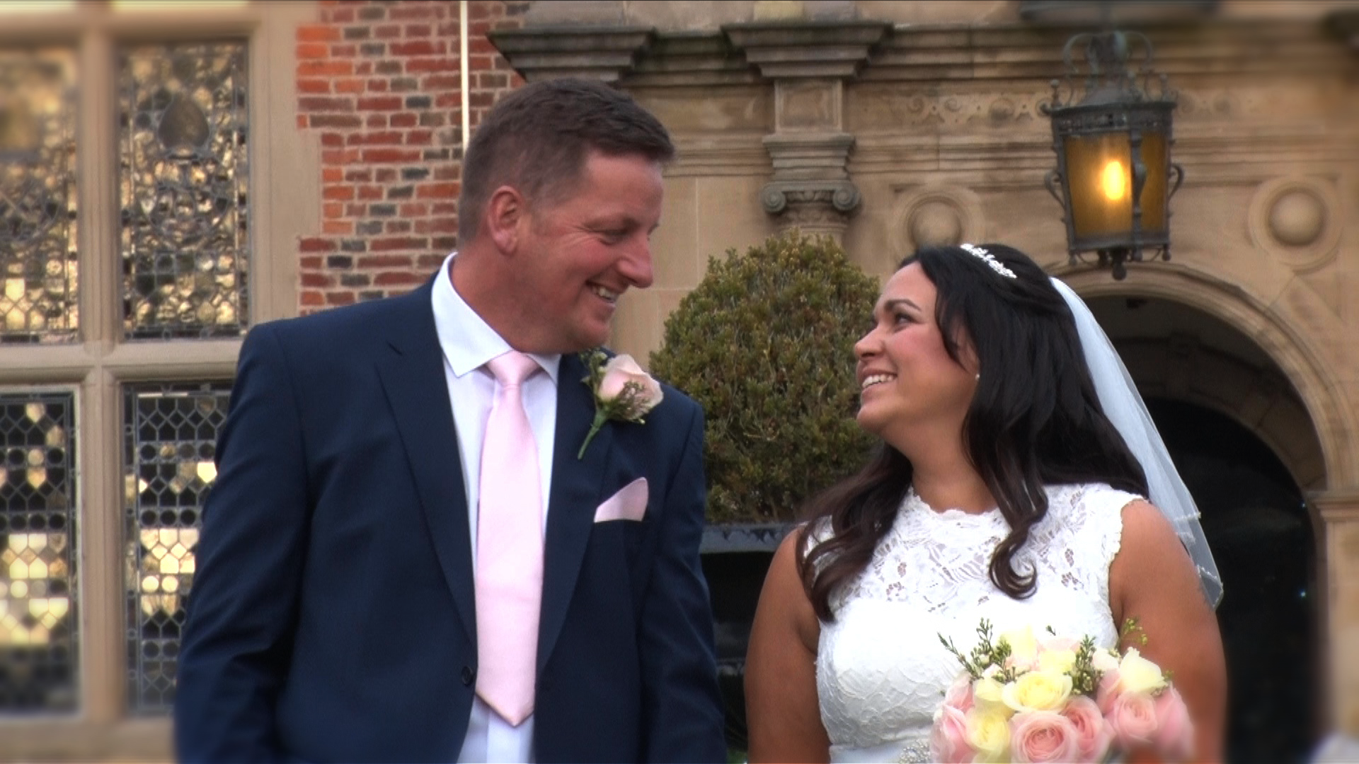 wedding film at Crewe Hall