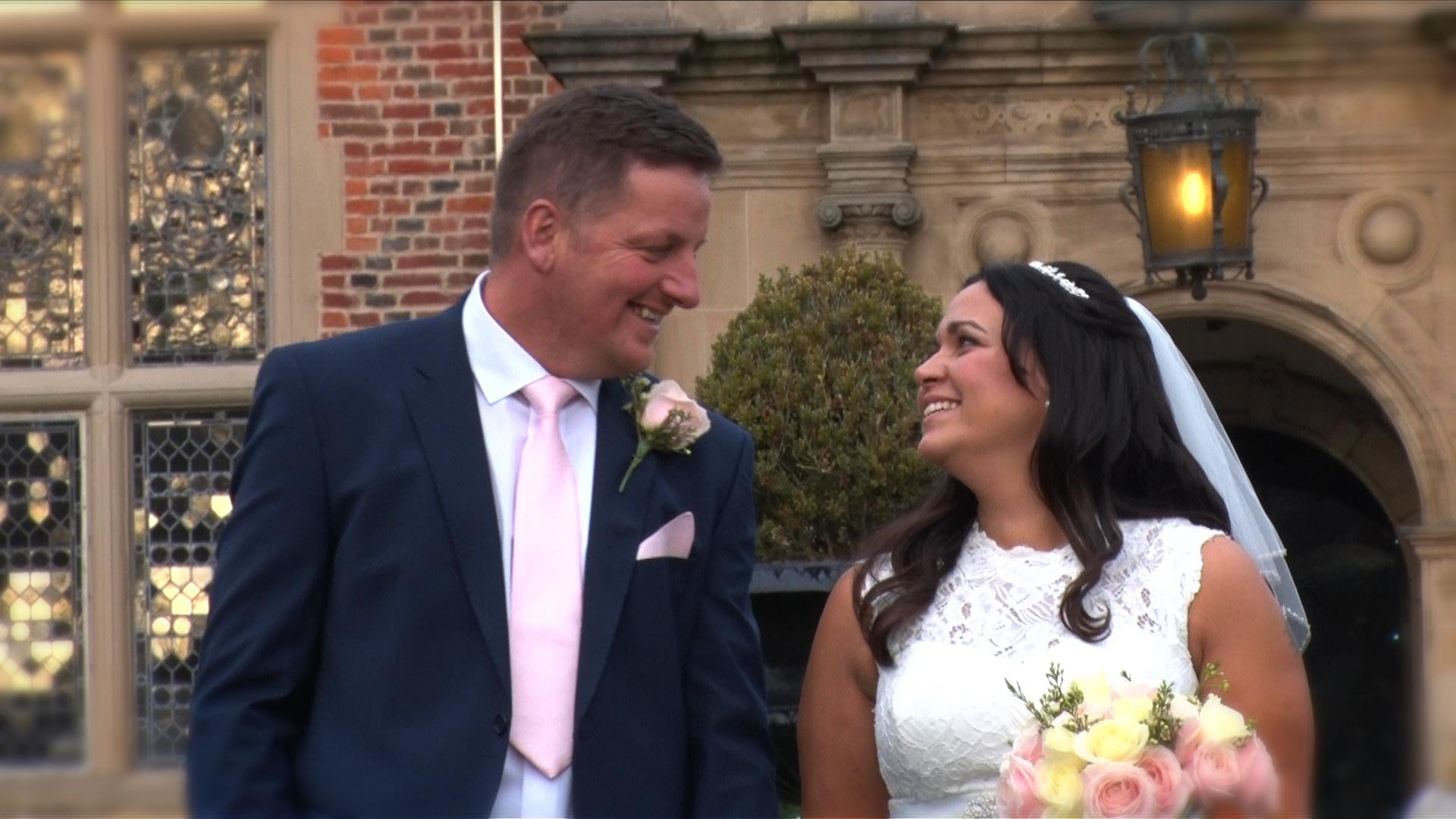 Crewe Hall wedding film