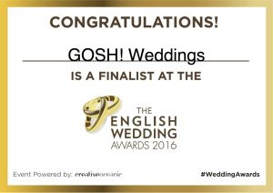 Finalist English Wedding Awards