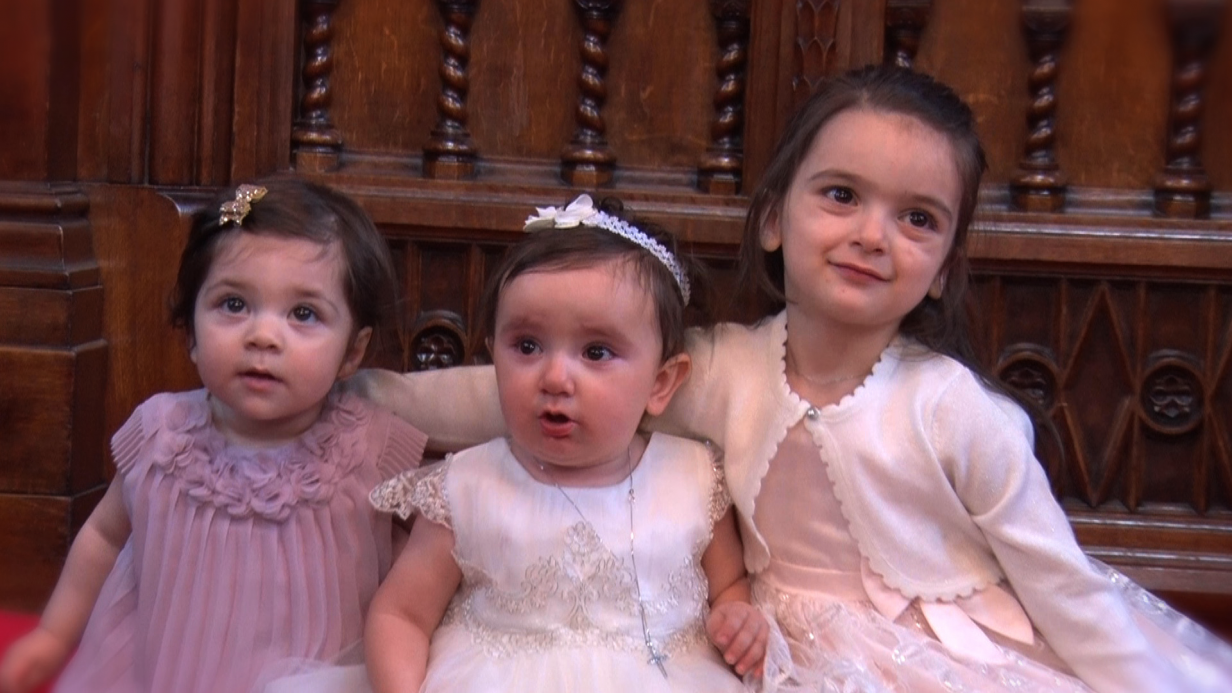 Maria's christening video