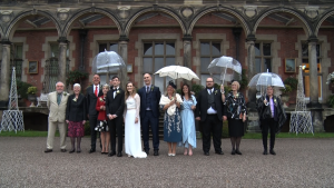 Group shot at Capesthorne Hall